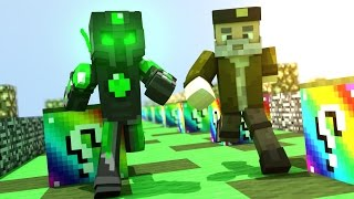 WITHERRRRRRRRRRR!! | - Willyrex vs sTaXx - Carrera épica Lucky Blocks