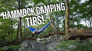 Overnight Backpacking! | Hammock Camping Tips & Cave Exploration