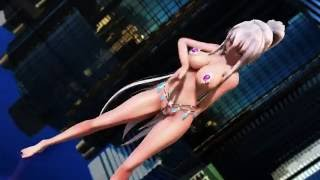 [MMD model-test]  Haku Sexy Dance  - DarkSeaAdventure