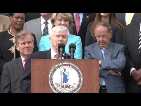 Gov. McDonnell Signs Transportation Funding Bill