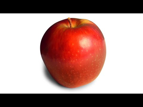 Apple - Loud Eating Sound!