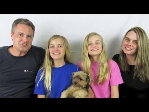 Family Gymnastics Challenge ~ Jacy And Kacy