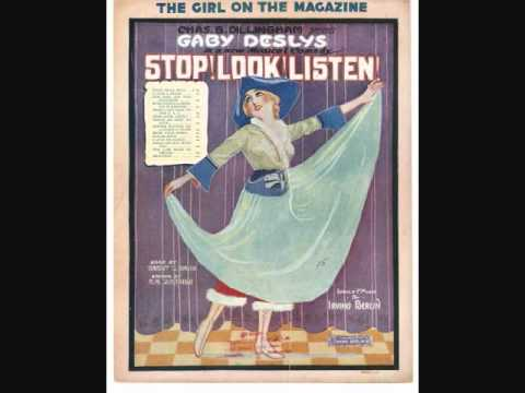 Irving Berlin - The Girl On the Magazine Cover