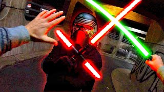 Star Wars VS Parkour POV - Real Life Parkour Chase