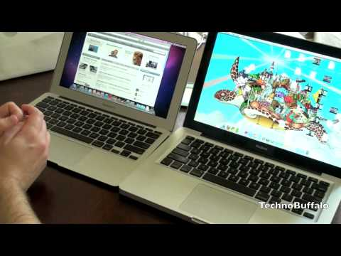 Thumb MacBook Air versus MacBook: Instant On and Boot Up Demo