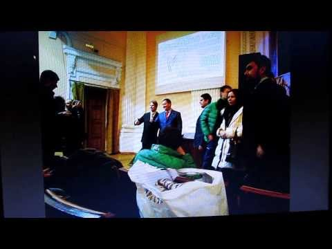 Съезд МММ 2014 халявщиков 25.01.2014 в Курске