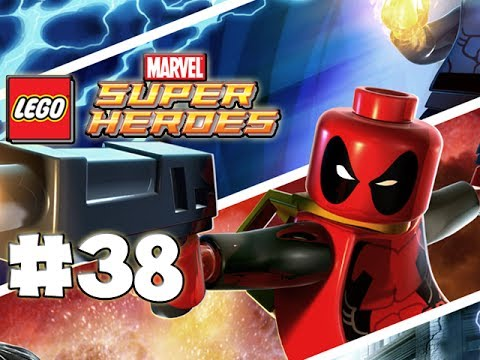 LEGO Marvel Superheroes - LEGO BRICK ADVENTURES - Part 38 - Photoz! (HD Gameplay Walkthrough)
