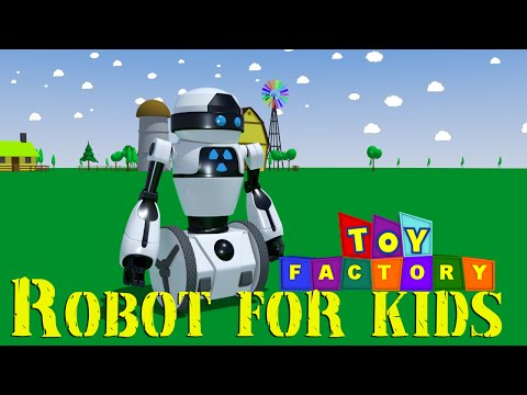 Robots for kids | robot cartoon for children | robot videos for children
