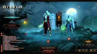 #3   Diablo 3   Reaper of Souls   Crusader Gameplay   Server Busy   Trixy & Marni