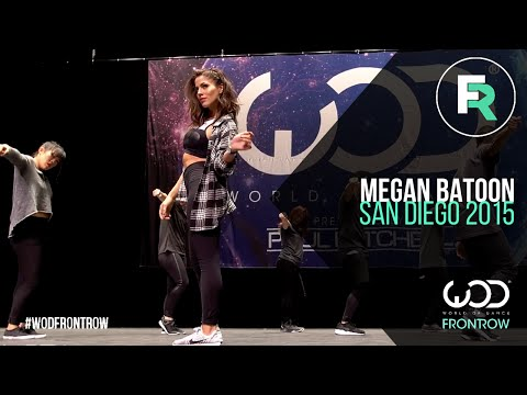 Megan Batoon | FRONTROW | World of Dance San Diego 2015 | #WODSD15