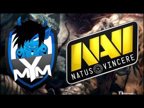MYM vs Na`Vi - BEST DOTA 1 GAME
