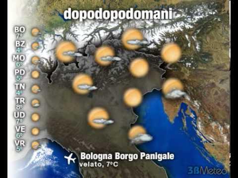 Meteo Italia a 3 giorni del 12/02/2013