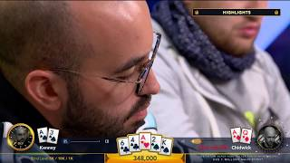 €1 Million Cash Game at 2018 Triton Poker Super High Roller Series Montenegro