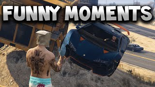 Grand Theft Auto 5 - Funny Moments 6