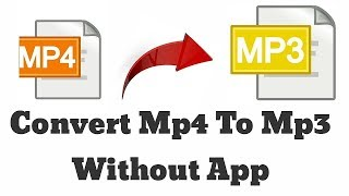 Video to MP3 convert without app in Android  es file explorer tips
