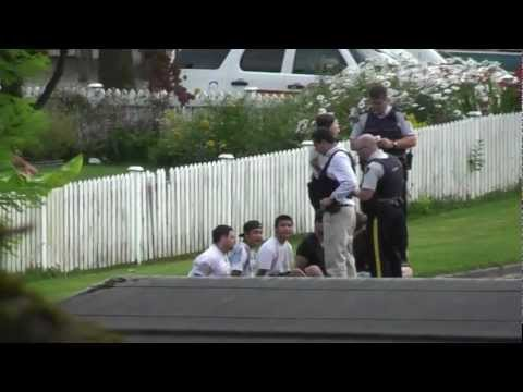 6 arrested In Chilliwack, BC (Young and Mellard) July 30th 2010