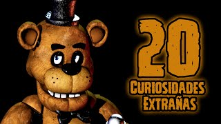 TOP 20: Las 20 Curiosidades Extrañas De Freddy De Five Nights At Freddy