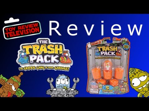 Trash Pack Series 2. 5 Pack Review Unboxing
