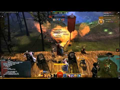 Засада - Guild Wars 2 (WvWvW gameplay)