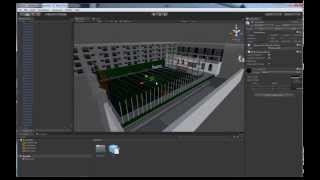3D Max & Unity | Make a very simple game. Part. 2