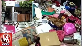 Thieves Rob 2 Houses In Kushaiguda, Loots 48 Tulas Gold | Hyderabad