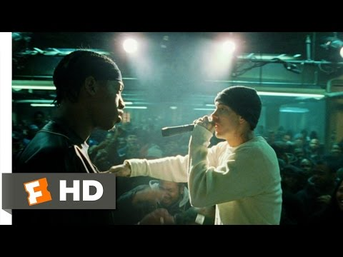 8 Mile (9/10) Movie CLIP - Rabbit Battles Lyckety-Splyt (2002) HD