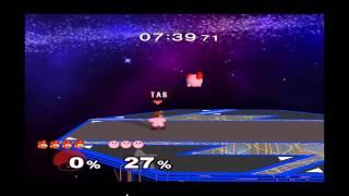 Super Smash Bros. Melee TAS: Dr Mario vs Kirby