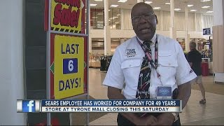 Sears employee has worked for the company for 49 years, but now it