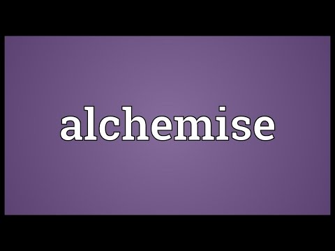Header of alchemise