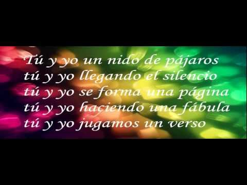 Tú Y Yo - Emmanuel - Con Letra video