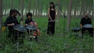 Aikyo. Cajita de musica. Granada. Hang, Bells, Flauta & Chelo