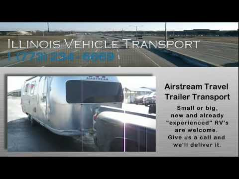 Airstream Travel Trailer Transport by Illinois Vehicle Transport