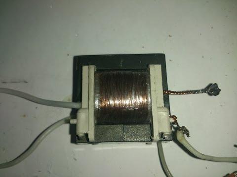 Трансформатор-преобразователь на кт837 (высоковольтный повышающий инвертор)