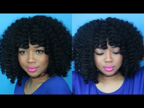 How I Styled my Cuevana Twist Out Bob! (Wig & Style Review)   NnesCorner