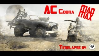 AC Cobra in MAD MAX Movie - Timelapse by RP. DESIGN
