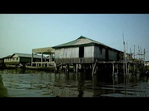 Ganvie, village on stilts in Benin