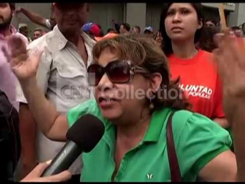 VENEZUELA: LEOPOLDO LOPEZ SUPPORTER/OPPONENT