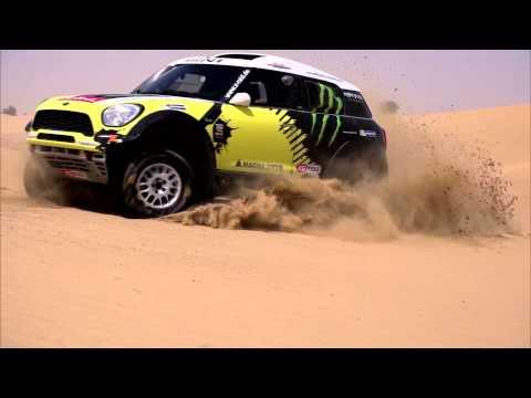 MINI ALL4 Dakar Trailer