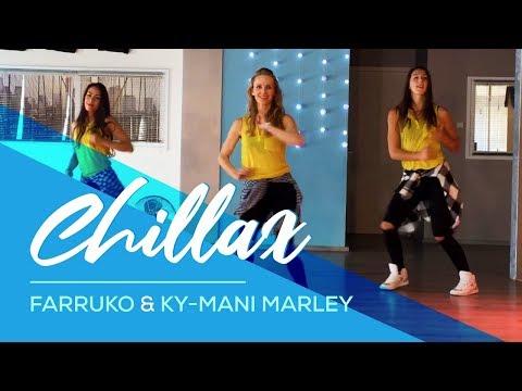 Chillax - Farruko & Ky-Mani Marley - Easy Fitness Dance Workout Baile Choreography Zumba Coreografia