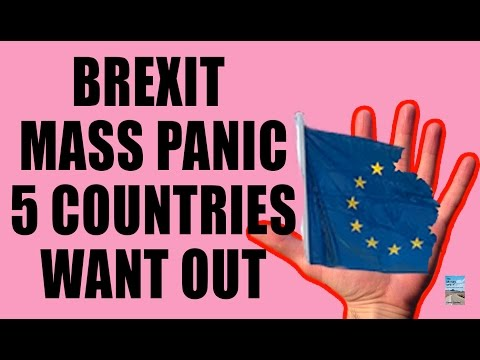 BREXIT Causes Global Market Selloff! 5 Countries Want OUT of EU!