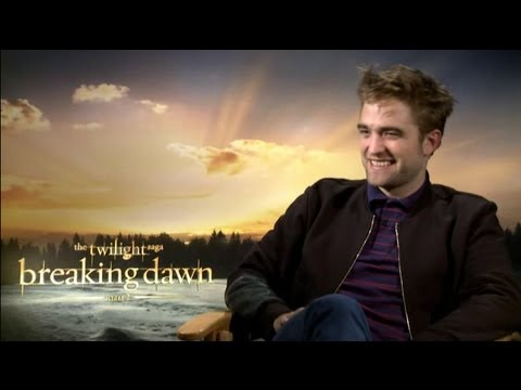 Robert Pattinson - The Twilight Saga: Breaking Dawn - Part 2 Interview With Tribute video