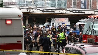 Raw video The scene in Hoboken after NJ Transit tr