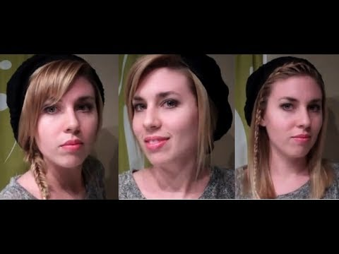 Easy Hairstyles for Hats / Berets: hairstyles for long hair & hairstyles for medium hair