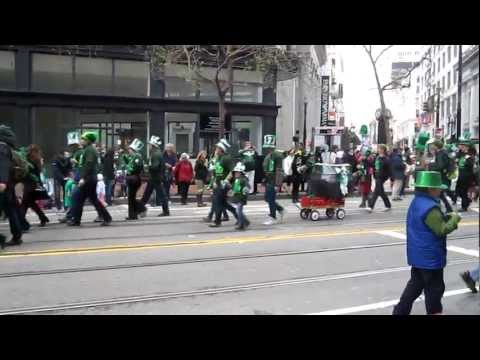 San Francisco St Patrick's Day Parade 2012 German International School of Silicon Valley - 03/19/2012