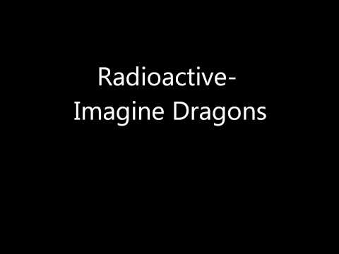 Radioactive-imagine Dragons (lyrics) video