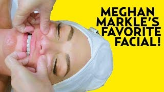 We Tried Meghan Markle's Favorite Facial: Buccal Massage! | The SASS with Susan and Sharzad
