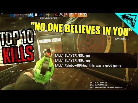🔊NO ONE BELIEVES IN YOU - BEST SIEGE TOP 10 PLAYS (WBCW #248)