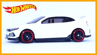 Hot Wheels 2018 Honda Civic Type R (1 Minute Car Review)