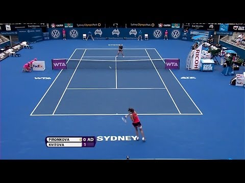 Tsvetana Pironkova 2014 Apia International Sydney Hot Shot