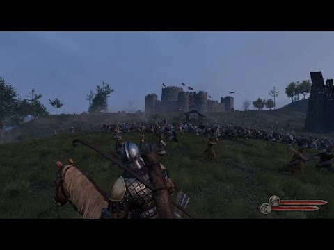 Mount & Blade II: Bannerlord E3 2016 Siege Gameplay Extended